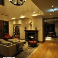 """A warm fire and a comfy lounge at """"Annabel"""""""