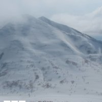 The backside of Mt Annupuri loaded with pow