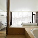 Mukashi Mukashi ensuite with views